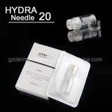 Aguja especial bioactiva 20 del Hydra de Microneedle de la ciencia de la piel del dispositivo del cuidado de piel de Corea de la clínica