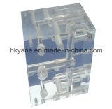 Части таможни PMMA/PC/Acrylic изготовления подвергли механической обработке CNC, котор