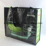 Sac d'emballage tissé par pp de transporteur, avec la taille et le modèle faits sur commande