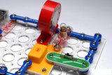 Hot Sale Education Materials for Schools 198 projets Snap Circuits for Kid, Discovery Science Kit, Kids Training Program