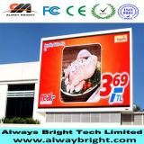 Preço barato P10 ao ar livre que anuncia o indicador de diodo emissor de luz