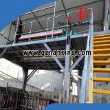 Matériel de filtration d'eau usagée pour la production d'argile