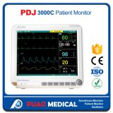 Ce / ISO médico portátil Monitor de paciente multiparámetro