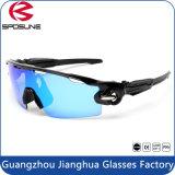 2016 Populair Wit Frame een Zonnebril van de Sporten HD van het Oog UV400 de Beschermende