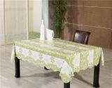 Tablecloth impresso do PVC com revestimento protetor não tecido/revestimento protetor de Spunlace no rolo (TJ0086A)