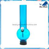 Goedkoop Blauw Glas Waterpipe met Gasmasker