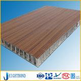 Lamellenförmig angeordnetes HPL Resopal-Aluminiumbienenwabe-Panel-Blatt des Resopal-