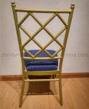 China-Lieferanten-Aluminiumrohr-Stuhl im Freien, Hotel-Stuhl
