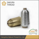 Filetage métallisé personnalisé à l'éprouvette gratuite Sakura pour le tissage