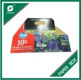 Kundenspezifischer Farben-Papppapier-Bierflasche-Kasten