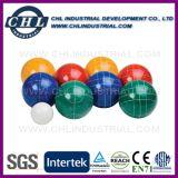 Подгонянный шарик Bocce смолаы логоса 90mm с мешком нося