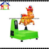 Cavalo Swing Elétrico De Passeio De Kiddie De Fibra De Vidro Durable