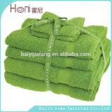 Il tovagliolo ha impostato per il regalo, bello tovagliolo di Towel&Bath del fronte