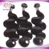 Weave peruano do cabelo humano do cabelo do Virgin da onda do corpo 8A