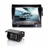 Sistema do CCTV com o monitor do quadrilátero do LCD da cor de Digitas e a câmera de visão larga super
