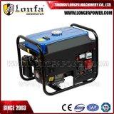 generador trifásico de la gasolina 380V de 6.5HP 2.5kVA pequeño
