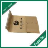 Изготовленный на заказ коробка Brown Kraft пересылая для книги