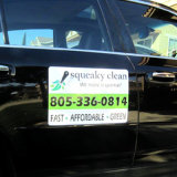 La coutume a estampé les aimants durables personnalisés de porte de véhicule