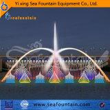 Lago material Ss304 que flota la fuente de la boquilla 3D