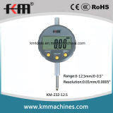 разрешение 0-12.7mm/0-0.5 '' индикатор с круговой шкалой цифров с 0.01mm/0.0005 ''
