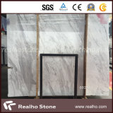商業建築材料のための最高品質のイタリアVolakasの白い大理石の平板