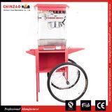 machine commerciale de luxe de générateur de Popper du maïs éclaté 8oz avec le chariot assorti