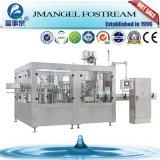 Máquina de enchimento e tampando da água mineral do frasco pequeno automático cheio