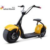 Fetter Gummireifen-elektrisches Motorrad der Shenzhen-Fabrik-Stadt-Coco-1000W