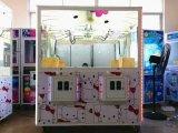 Mini máquina de jogo premiada dobro da máquina de jogo eletrônico da garra dos doces