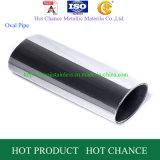 Tubo ovale dell'acciaio inossidabile della saldatura