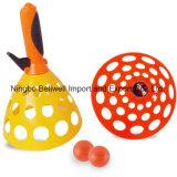 Ручки хоппера пластмассы игрушки 2 напольного спорта плюс один шарик
