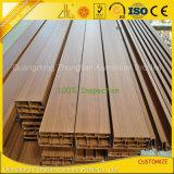 중국 나무로 되는 알루미늄 밀어남을 공급하는 알루미늄 단면도 공장