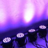 Indicatore luminoso esterno di PARITÀ della fase 18*15W LED di DMX 512