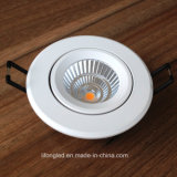Neuer heller justierbarer PFEILER LED Downlight Entwurfs-China-LED unten