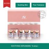 La nutrizione di supplemento migliora efficace la funzione che delle cellule la pelle sensibile lenitiva idrata ed idrata il siero lenitivo di riparazione della pelle di cura di pelle