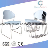 Durable High Grade White Color Leisure Plastic Office Training Chair