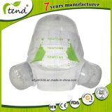 Embalado Marca OEM Produção Fabricante Double Ears Sline Magic Tape Fraldas para adultos