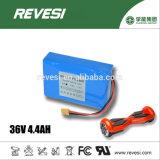 Batería de litio de la célula 36V 4.4ah del poder más elevado 18650 para la vespa de Blance