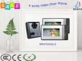 4 Draht-inländisches Wertpapier-Türeinstieg-Systems-videoTürklingel