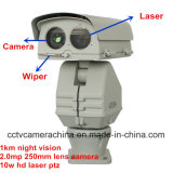 250mm Lens 2.0MP CMOS 1km Camera van de Laser PTZ van de Visie van de Nacht HD IP 10W (shj-hd-te-Sc)