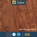 Atacado 8.3mm E0 HDF AC3 Crystal Oak Waxed Edge Maple Laminate Wood Flooring