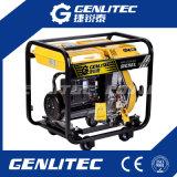 Generador enfriado por aire de diesel móvil 3 kW para uso en el hogar