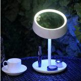 2016 nuevo llegan 3 en 1 espejo encendido LED del maquillaje de la vanidad del diseño con la lámpara de vector