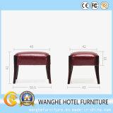 Schlafzimmer-Möbel-Großverkauf verwendeter gelber lederner Stuhl