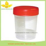 Urin-Probenmaterial-Ansammlungs-Cup mit Kappe