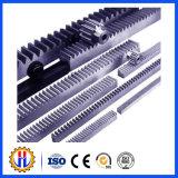 Механизм реечной передачи шестерни Precisoin изготовленный на заказ подвергая механической обработке стальной малый