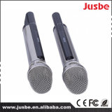 Microphone sans fil professionnel à canal double de fréquence ultra-haute de microphone d'utilisation d'émission en direct de prix usine Fk-800