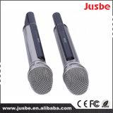 Микрофон пользы выставки в реальном маштабе времени двойной - микрофон UHF канала профессиональный беспроволочный