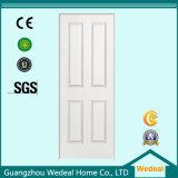 Porta de painel americana de madeira interior branca do PVC de Prehung (WDHC01)