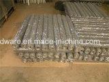 Rete metallica esagonale galvanizzata del ferro